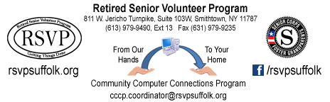 Computer Community Connections Program - Our Hands to Your Home